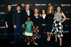 "Cast of ""Roseanne"" reboot show"