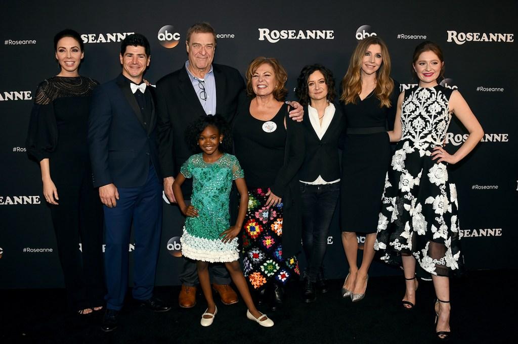 "Cast of ""Roseanne"" reboot show"