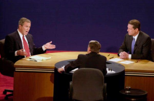 Image of Bush-Gore debate