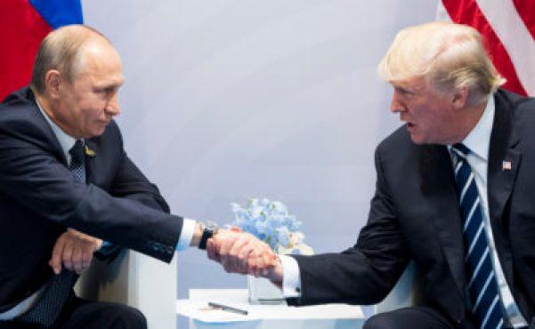 Trump-Putin handshake photo