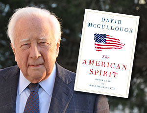 Historian David McCullough. Photo by William B. McCullough