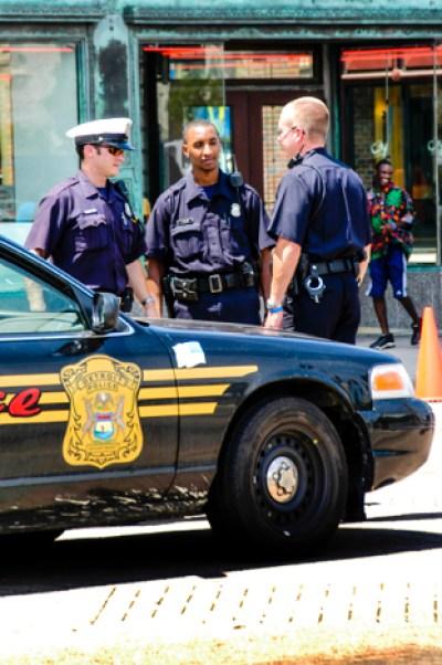 Detroit police officers
