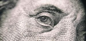 Benjamin Franklin on a $100 bill