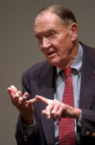 Vanguard Group founder Jack Bogle