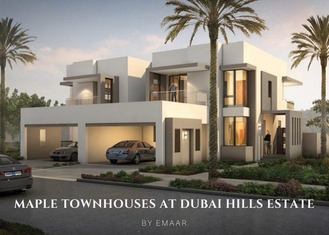 Maple Townhouses at Dubai Hills Estate by Emaar