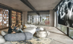 Gyms, pools, cinema and other shared amenities - Collective