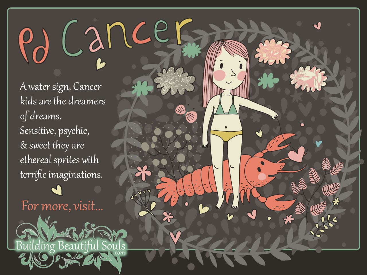 The Cancer Child Cancer Girl  Boy Traits  Personality