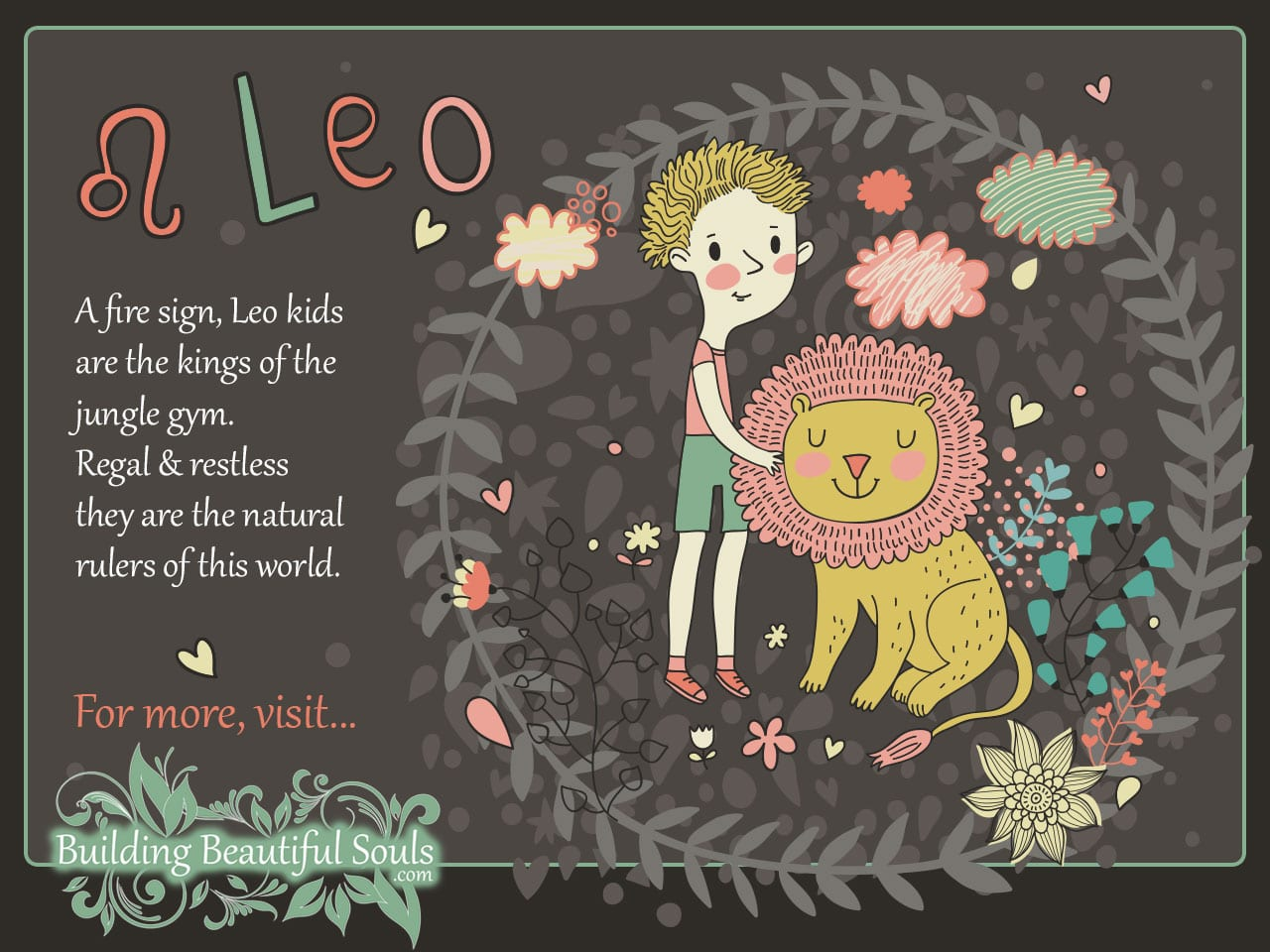 The Leo Child Leo Girl  Boy Traits  Personality