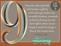 Numerology 9 | Life Path Number 9 | Numerology Meanings