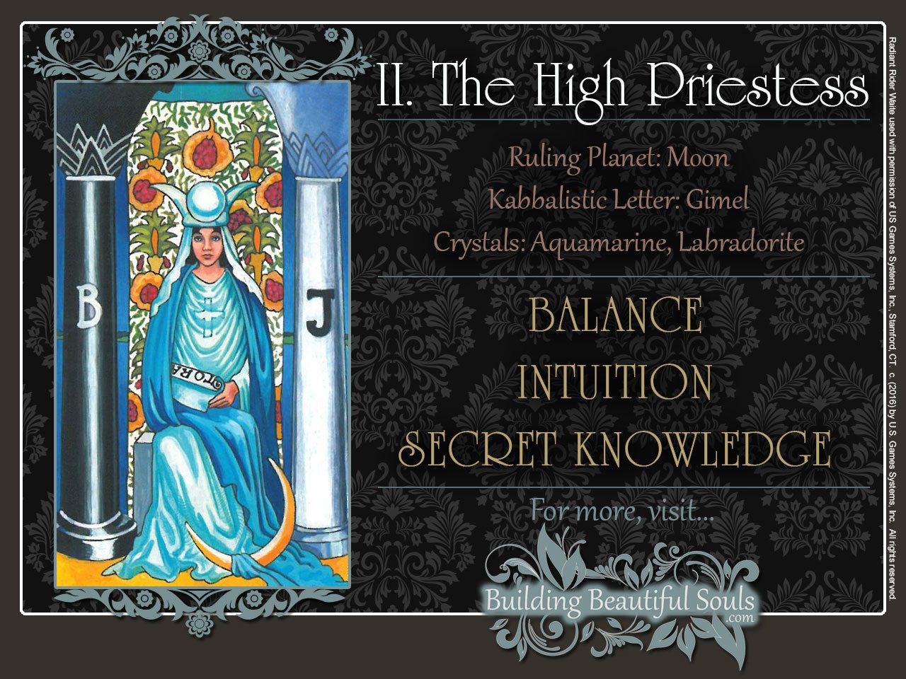 High Priestess Tarot Card Meanings
