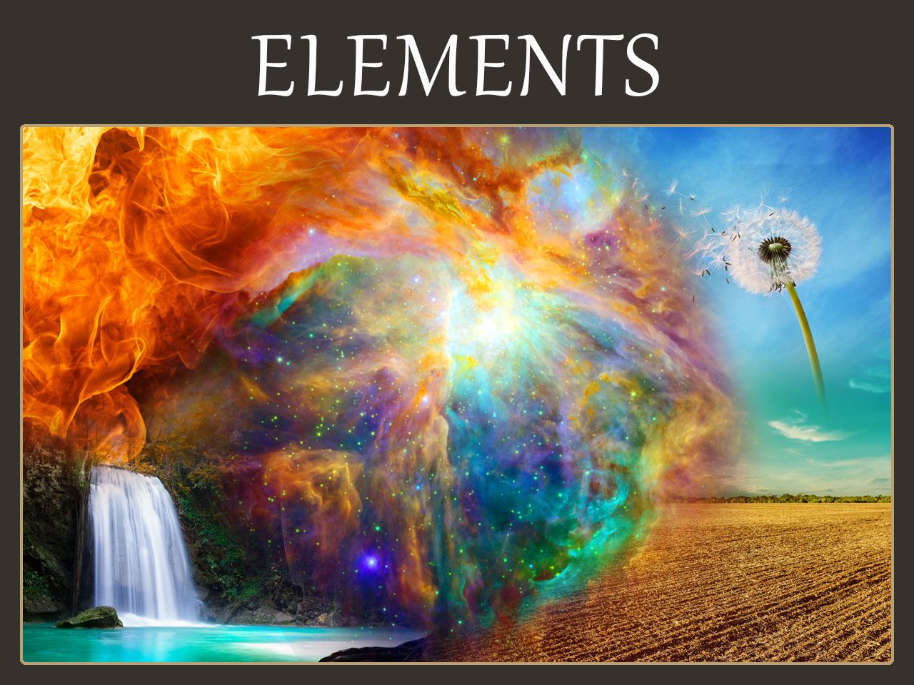 Five 5 Elements Symbolic Meaning