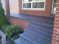 Coloured Concrete - Front Porch Restoration - Etobicoke ...