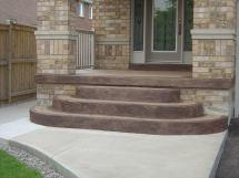 Sandalwood Parkway Brampton - Decorative Concrete Overlay