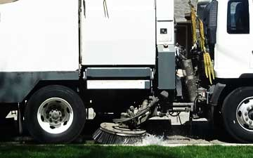 Parking Lot Sweeping Service in Orange County Commercial Janitorial Services
