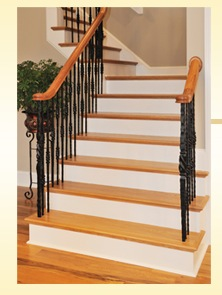 prefinished stair treads solid hardwood in-stock sale1
