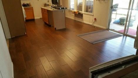 b2w hickory laredo engineered hardwood flooring customer project