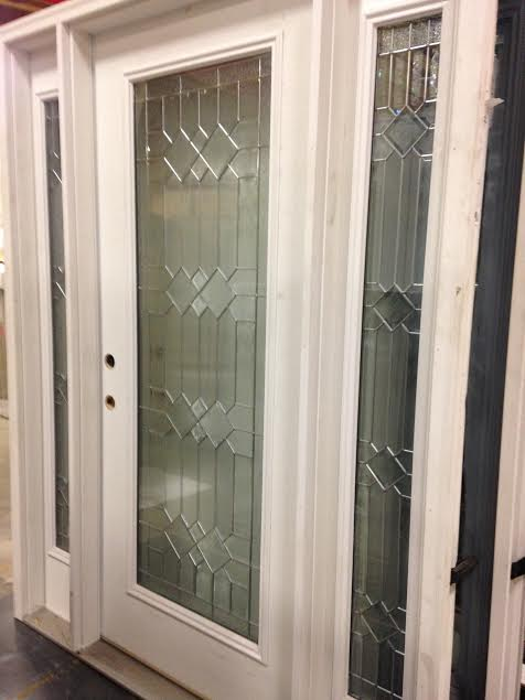 Feather River Exterior Door W Sidelights Full View
