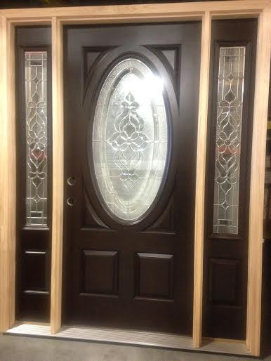 overstock feather river exterior door w sidelights 4