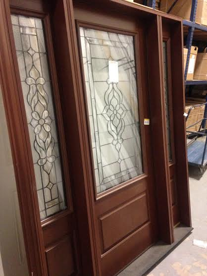 overstock feather river exterior door w sidelights pvc jamb