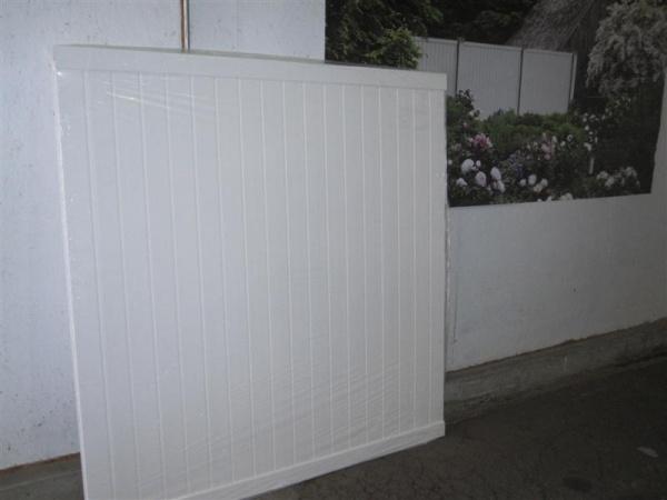 6 X 6 Veranda White Vinyl Privacy Fence In Stock