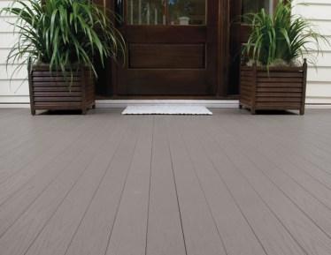 Azek pvc Porch_SlateGray tongue and groove porch flooring
