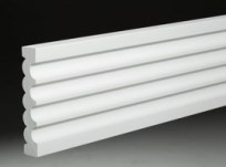 azek Moulding_Fluted_Reeded_AZM-606_Product pvc
