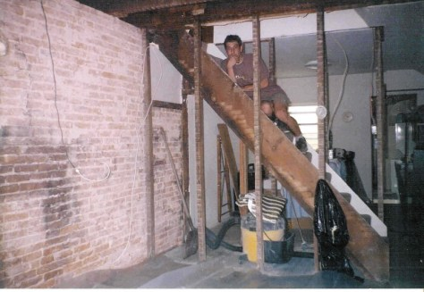 2000 :: gutted Baltimore rowhome