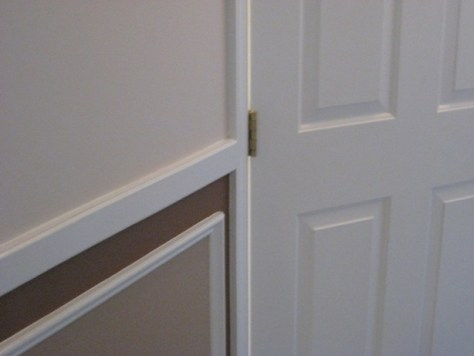 Make an outswinging door inswinging :: chairrail door and door hinges right hand door