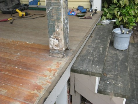 timber oil and urethane not the answer for extorior porches