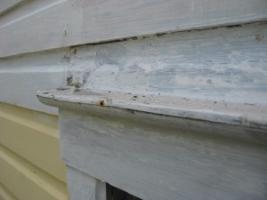 site bend copper window flashing :: Site broke and retrofitted z-flashing