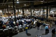 picture of the indoor auction floor Southern Sales Services Baltimore