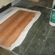 transition patched porch boards with exterior grade wood glue
