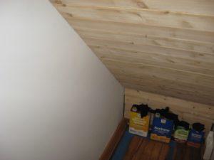 Cedar Paneling in a Closet