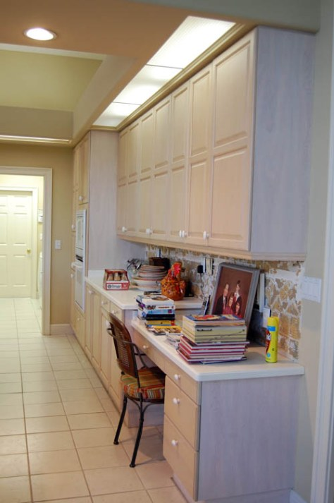 decorative painting techniques used on kitchen cabinets before