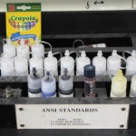 a stain kit used in testing tile and surfaces at the NAHBRC