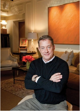 Jay Jenkins of the Baltimore firm Jenkins Baer Associates image via Cal Finder/Baltimore Style