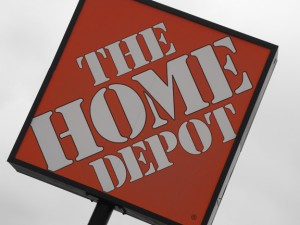 Home Depot sign image by Barry Morgan