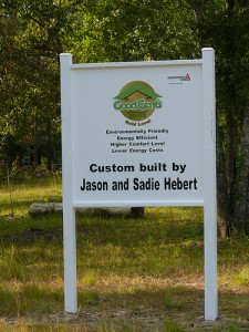 Custom Built by the Heberts After Katrina