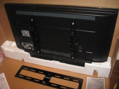 Samsung Lcd From the Back Plus Sanus Bracket