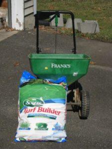 Scotts Turfbuilder with Crabgrass Preventer