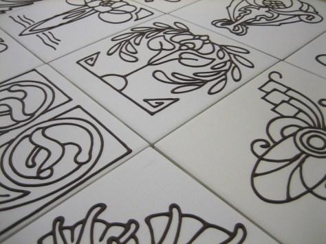 tubeline tiling process via Roaming by Design