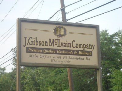J Gibson Mcilvain Company Wholesale Lumber