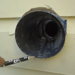 Dryer Vent Sleeve Fold Must Be Placed at Bottom