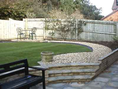 Landscaping Around a Patio :: Keep Your Patio Looking Good Year Round image via Premier Window & Building