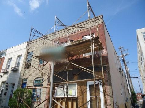 Grind Repair Repoint Existing Brick