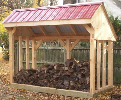 Site Built Woodshed