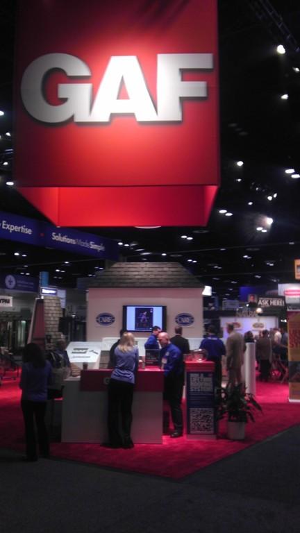 GAF booth IBS 2012