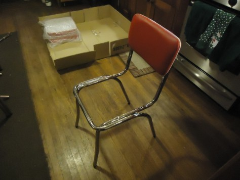 Assembling Coaster Retro Kitchen Chairs