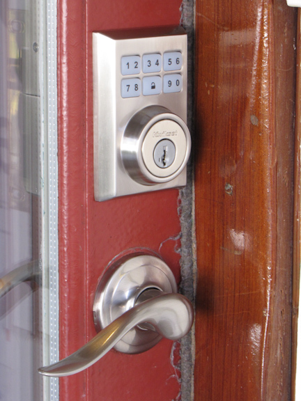 Kwikset Touchpad Keyless Entry Parts