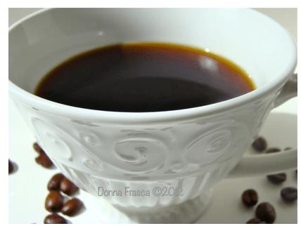 Black Coffee Donna Frasca